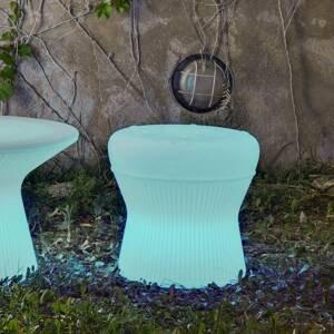 NEWGARDEN Newgarden Corfu LED stolček 40cm solár + batéria