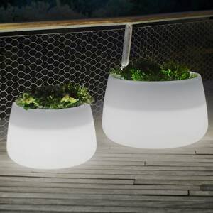 NEWGARDEN Newgarden Camelia 60 LED kvetináč solár+batéria