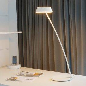 OLIGO OLIGO Glance stolná LED zakrivená biela matná