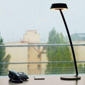 OLIGO OLIGO Glance stolná LED zakrivená čierna matná