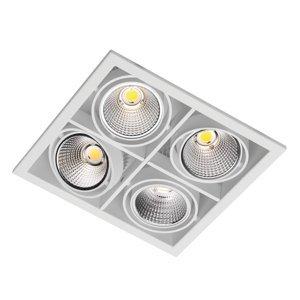 OMS Zipar Quatro-S Recessed zapustené LED 74W ww