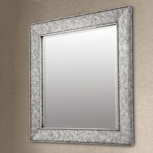 Orion Zrkadlo Sverre štvorcové starožitné striebro