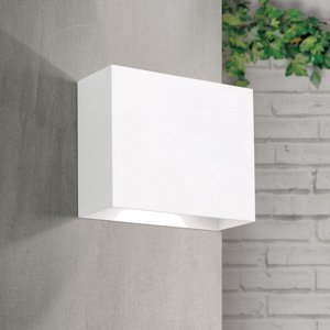 Orion LED vonkajšie nástenné svietidlo Akzent, biela