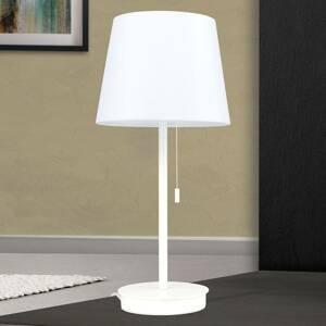 Orion Stolná lampa Ludwig s USB portom biela