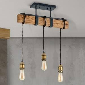 Orion Závesná lampa Cellar vo vintage dizajne, 3-pl.