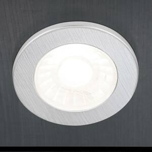 Orion Nábytkové zapustené LED svetlo Artist 3ks striebro