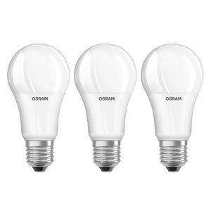 OSRAM LED žiarovka E27 13W univerzálna biela sada 3 ks