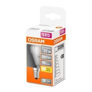 OSRAM OSRAM Classic P LED žiarovka E14 3,3W 2.700K matná