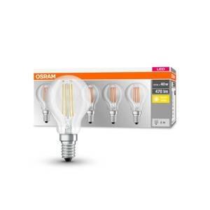 OSRAM OSRAM LED E14 P40 4W Filament 827 470lm 5 kusov