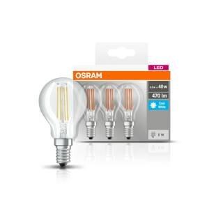 OSRAM OSRAM LED E14 P40 4W Filament 840 470lm 3 kusy