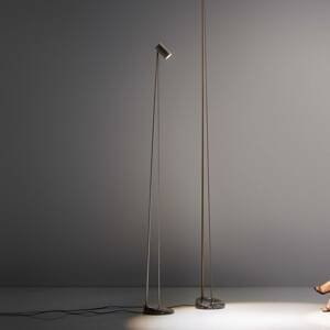 OleV OLEV Boom stojaca LED lampa 240cm IP20 čiernená