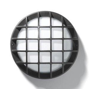PERFORMANCE LIGHTING Vonkajšie nástenné svetlo EKO 21/G IP44 antracit