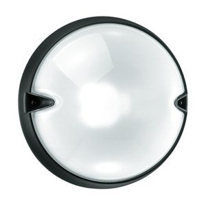 PERFORMANCE LIGHTING Okrúhle vonkajšie nástenné svietidlo CHIP biele