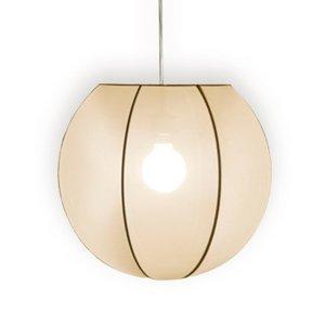 Pamalux Závesná lampa Kiano s textilným tienidlom Ø 40cm