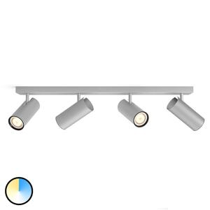 Philips HUE Hue Buratto LED svetlo hliník 4p stmievací vypínač