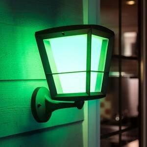 Philips HUE Hue White+Color Econic nástenné svietidlo hore