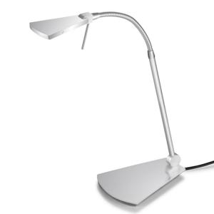Pujol LED lampa na písací stôl Nec, nikel