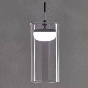 PRANDINA Prandina Diver Dimm závesná lampa S3 2700K čierna
