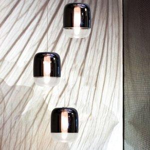 PRANDINA Prandina Gong mini S1 závesná lampa čierna