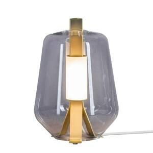 PRANDINA Prandina Luisa T1 stolná lampa 2700K mosadz/dym