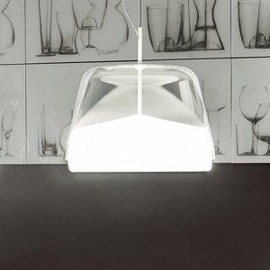 PRANDINA Prandina La Belle S5 závesná lampa, sivá