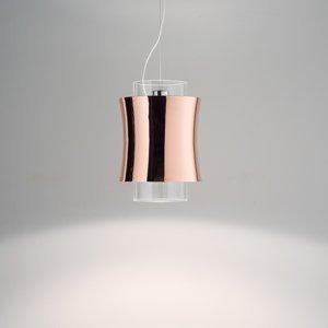 PRANDINA Prandina Fez S1 závesná lampa leštená meď