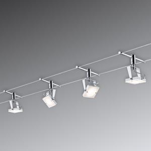 Sady lankových systémov osvetlenia
