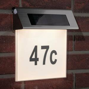 Paulmann Paulmann solárne svetlo s číslom domu s LED, IP44
