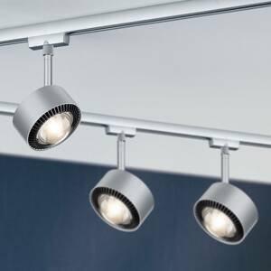 Paulmann Paulmann LED svetlo Aldan URail čierne/chróm matné