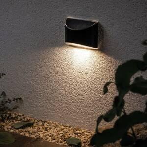 Paulmann Paulmann solárna nástenná lampa Elliot s batériou