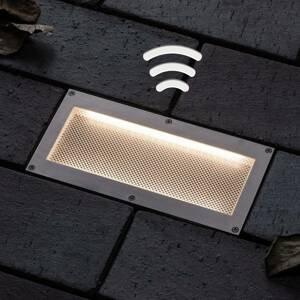 Paulmann Paulmann zapustené podlahové LED Aron 20x10 solár