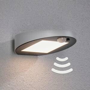 Paulmann Paulmann solárne vonkajšie nástenné LED Ryse biele