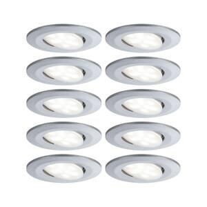 Paulmann Paulmann LED zapustená lampa Calla/10 ks/stmievač