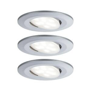 Paulmann Paulmann LED vonkajšia lampa Calla/3 ks/chróm