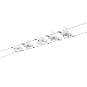 Paulmann Paulmann Mac II lankový systém 5-plameňový biely