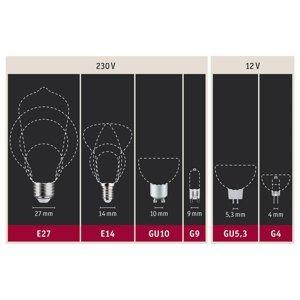 Paulmann Paulmann LED žiarovka E27 filament oranžová 1,1W