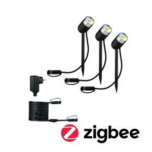 Paulmann Paulmann Plug & Shine Pike ZigBee RGBW 3k základňa