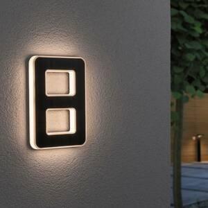 Paulmann Paulmann solárne LED číslo domu 8