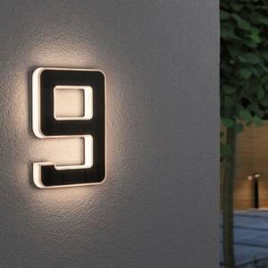 Paulmann Paulmann solárne LED číslo domu 9