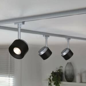 Paulmann Paulmann URail LED svetlo Pane chróm matné, čierne