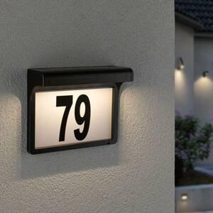 Paulmann Paulmann Dayton solárne LED s číslom domu