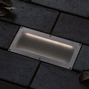 Paulmann Paulmann Brick zapustené podlahové LED, 10x20cm