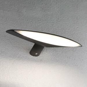 Paulmann Paulmann Kiran solárne nástenné LED 30cm antracit