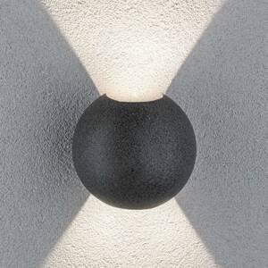 Paulmann Paulmann Concrea vonkajšie nástenné LED, okrúhle
