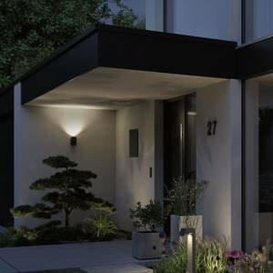 Paulmann Paulmann Concrea vonkajšie nástenné LED, valcovité