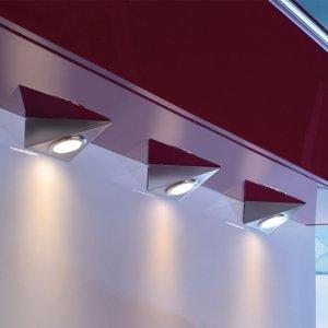 Paul Neuhaus Podhľadové LED Helena trojuholník 3ks 3000K
