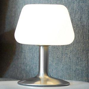 Paul Neuhaus Malá stolná LED lampa Till dotykový stmievač oceľ