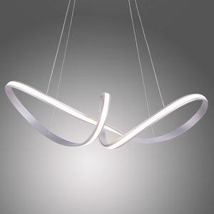 Paul Neuhaus LED svietidlo Melinda 38W stmievateľné oceľovosivé