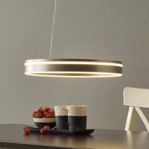 Q-SMART-HOME Paul Neuhaus Q-VITO závesné LED 40cm oceľ
