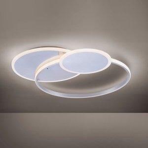 Paul Neuhaus Stropné LED Emilio s diaľkovým ovládaním, okrúhle